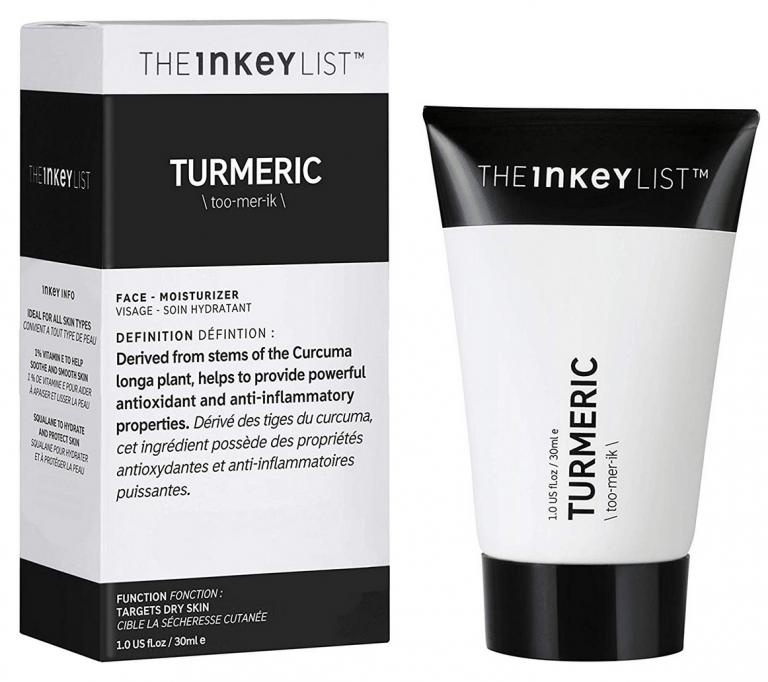 Crema hidratante natural The Inkey List Turmeric
