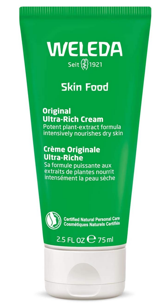 Crema vegana hidratante Weleda skin food