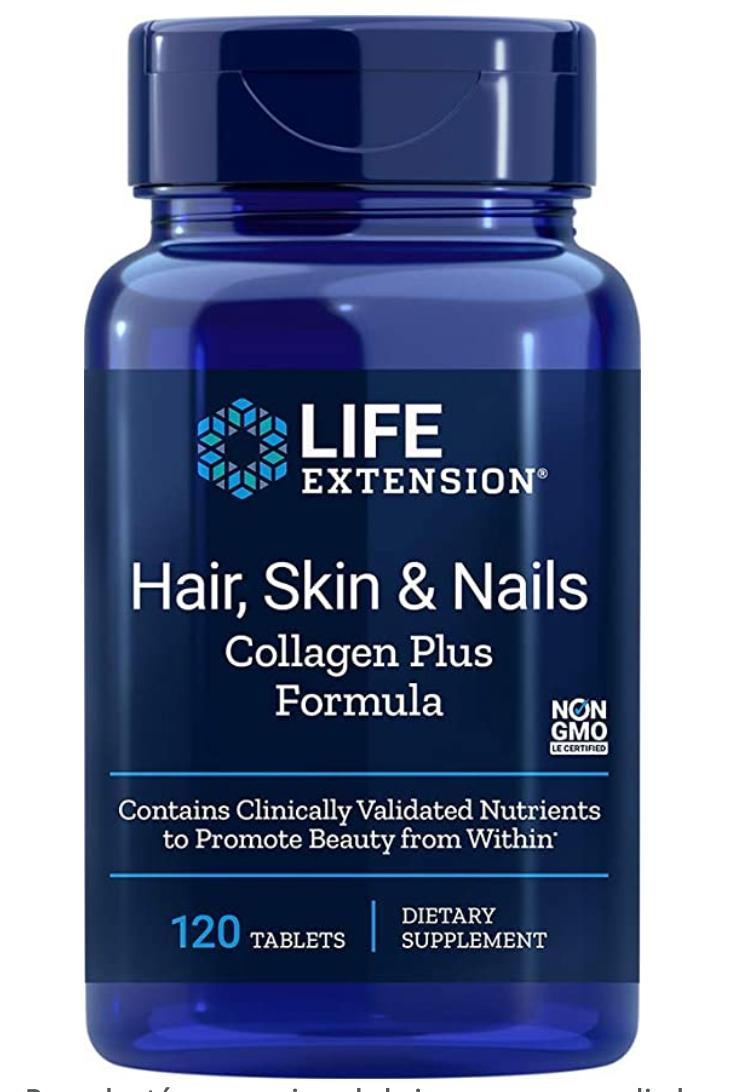 colágeno peptidos suplemento life extension