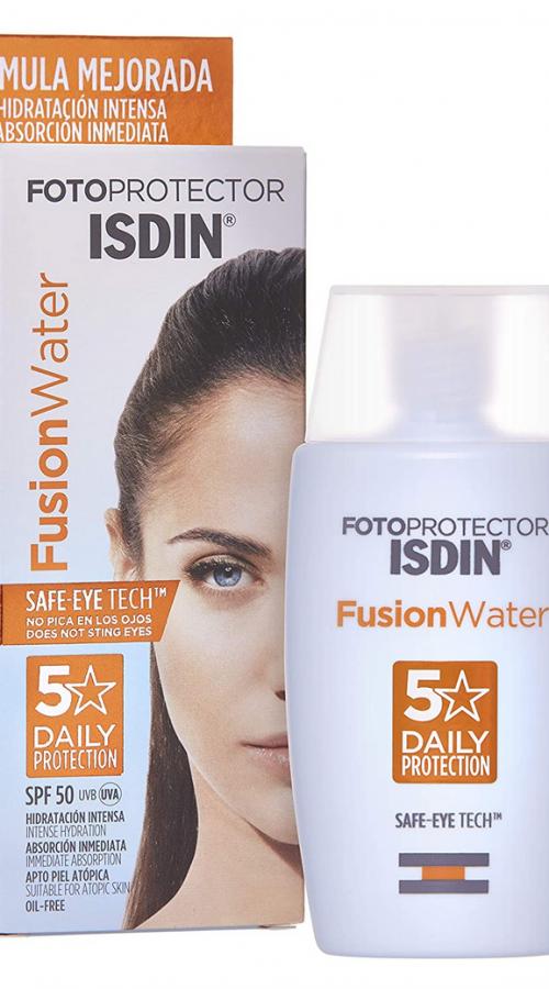 Fotoprotector isdin fusion water con color