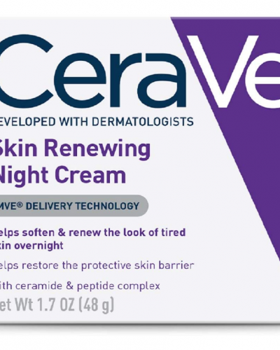 CeraVe renewing night cream con niacinamida