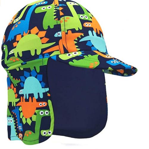 gorra con proteccion solar niños