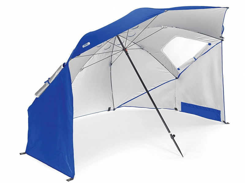 parasol con proteccion solar ultravioleta