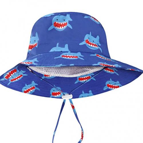 Sombrero de playa niños con proteccion solar
