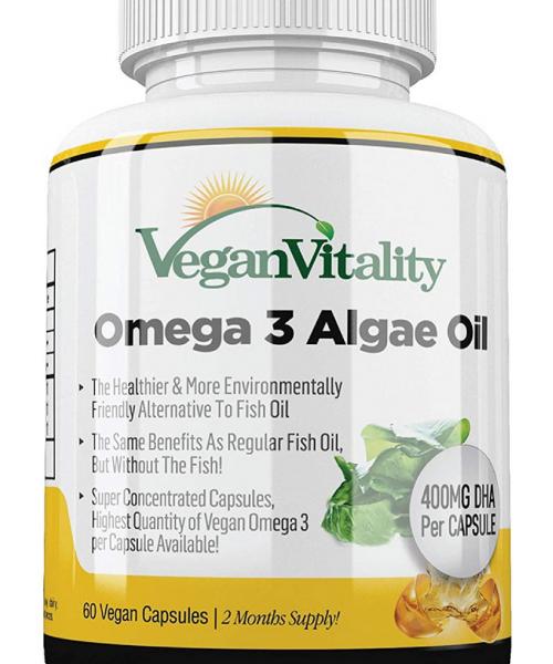 Omega 3 aceite de alga