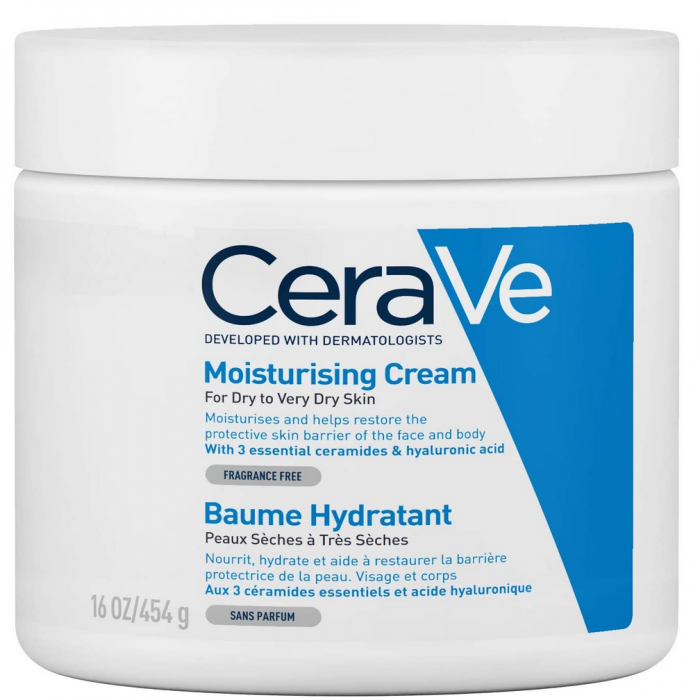 Cream CeraVe para la piel seca en invierno